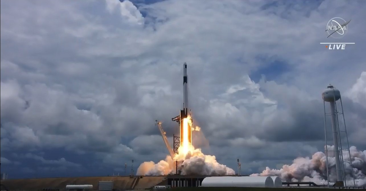 NASA's 22nd SpaceX cargo resupply mission launches.