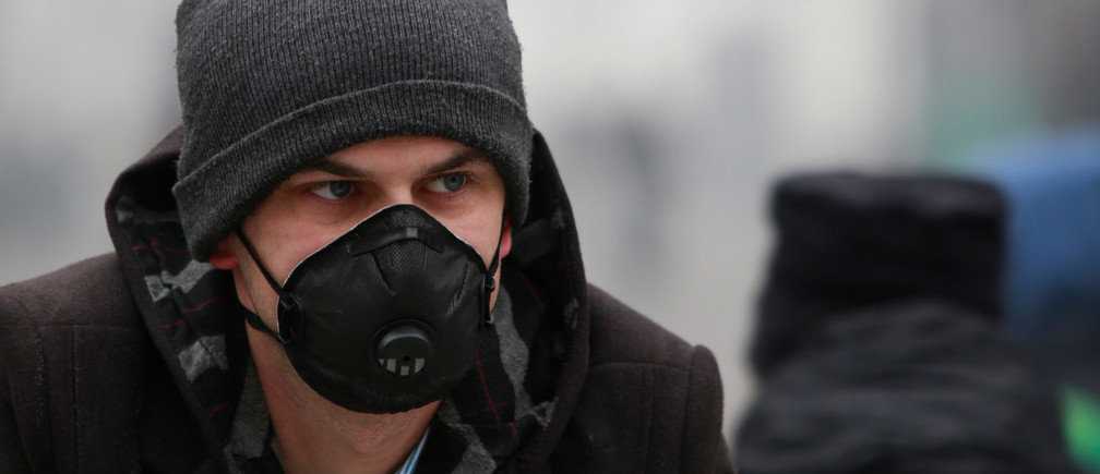 """""""It's outrageous that we've reached a point where it's healthier for some people to stay inside and not exercise, rather than walk outside and breathe polluted air"""""""