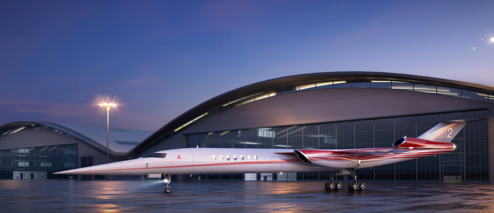 Photo illustration of the Aerion AS2, the world's first supersonic business jet, being developed by Lockheed Martin Corp partnering with plane maker Aerion Corp of Reno, Nevada, is shown in this handout photo illustration released December 15, 2017. Courtesy Aerion Corporation/Handout via REUTERS   ATTENTION EDITORS - THIS IMAGE HAS BEEN SUPPLIED BY A THIRD PARTY. - RC1487247B30