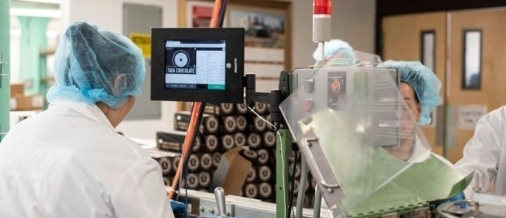 MIT spinout Tulip offers customizable manufacturing apps (like the one on the screen) in addition to sensors, gateways, and analytics to improve human-based manufacturing processes.