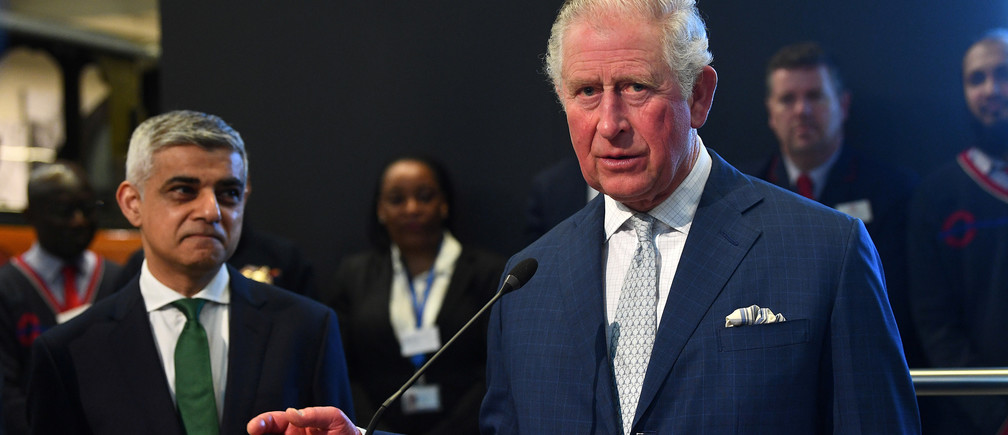 Britain's Prince Charles gives a speech during a visit to the London Transport Museum, in London, Britain March 4, 2020. Victoria Jones/Pool via REUTERS - RC23DF9UZNLV