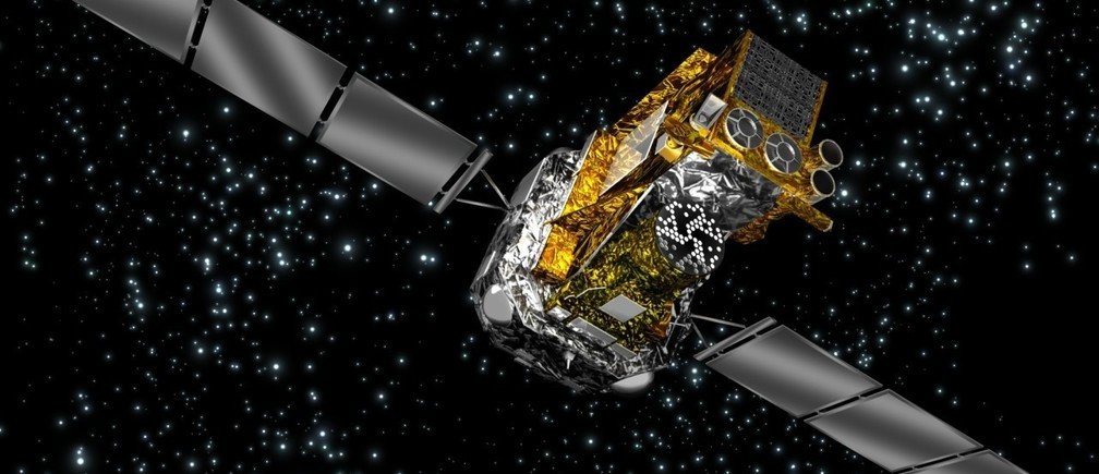 The European Space Agency's Integral satellite will 'surf' out of orbit at the end of its life