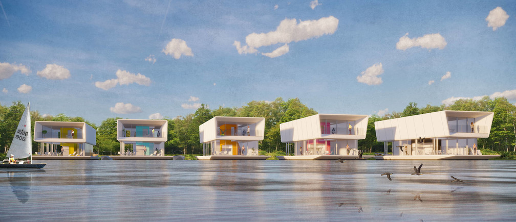 These floating homes could protect people from flooding as sea levels rise