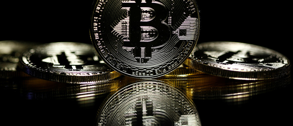 Bitcoins are seen in this illustration picture taken September 27, 2017.  REUTERS/Dado Ruvic/Illustration - RC1334A5B180