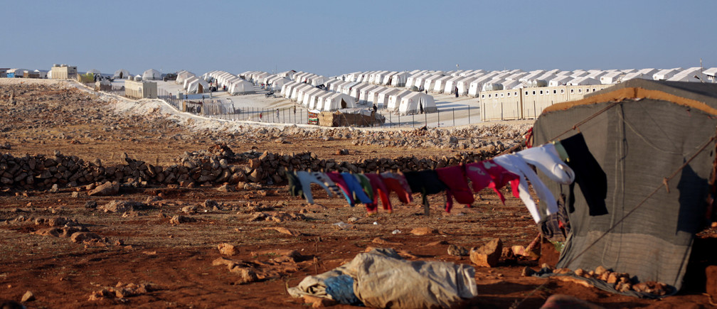 A general view of the refugee camp near Atimah village, Idlib province, Syria September 11 ,2018. REUTERS/Khalil Ashawi - RC160F52B0B0
