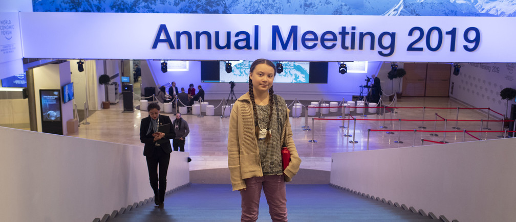 This is what Greta Thunberg just told Davos