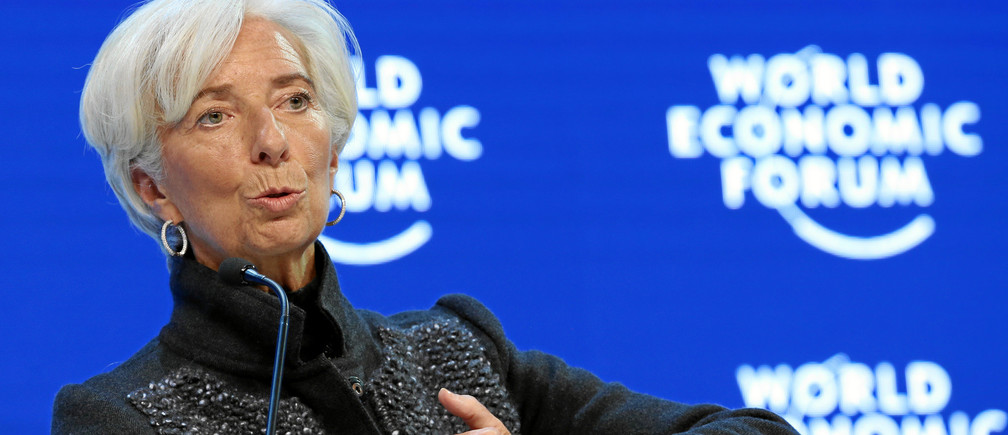 Christine Lagarde to Davos leaders: I warned about the dangers of  inequality in 2013 and nobody listened | World Economic Forum