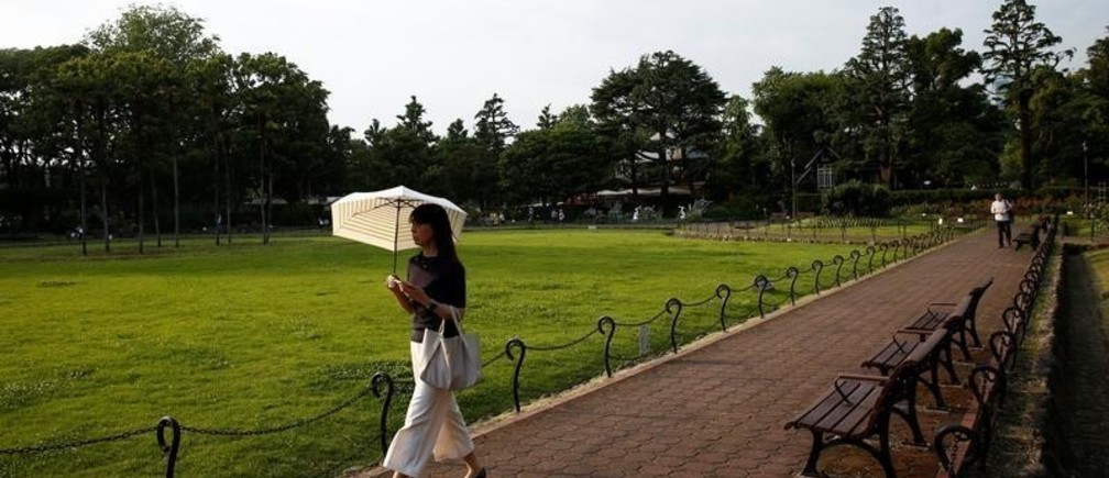 Hibiya Park is pictured in Tokyo, Japan July 12, 2017. REUTERS/Kim Kyung-Hoon - RC132B9E1CE0