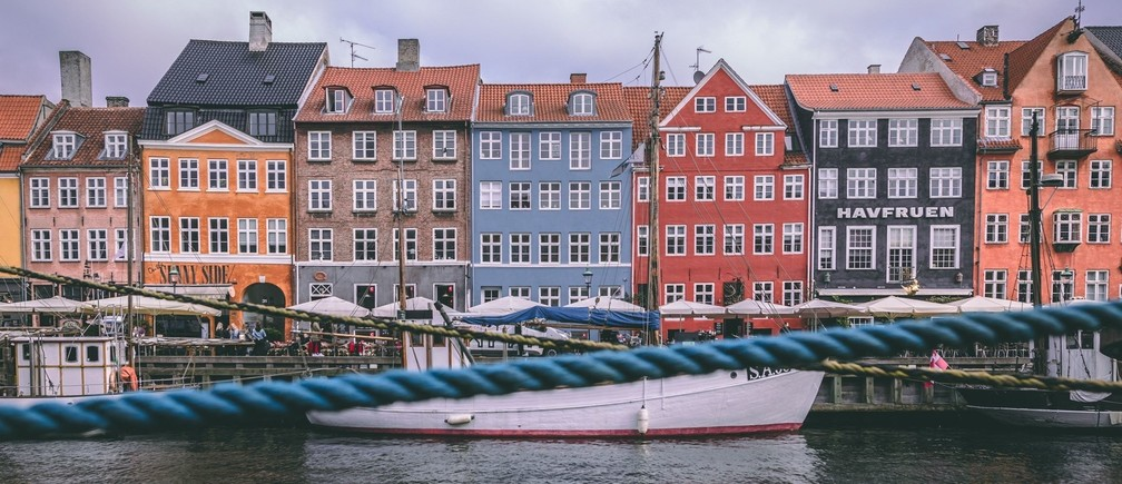 Nyhavn, Denmark houses nordic model socioeconomic