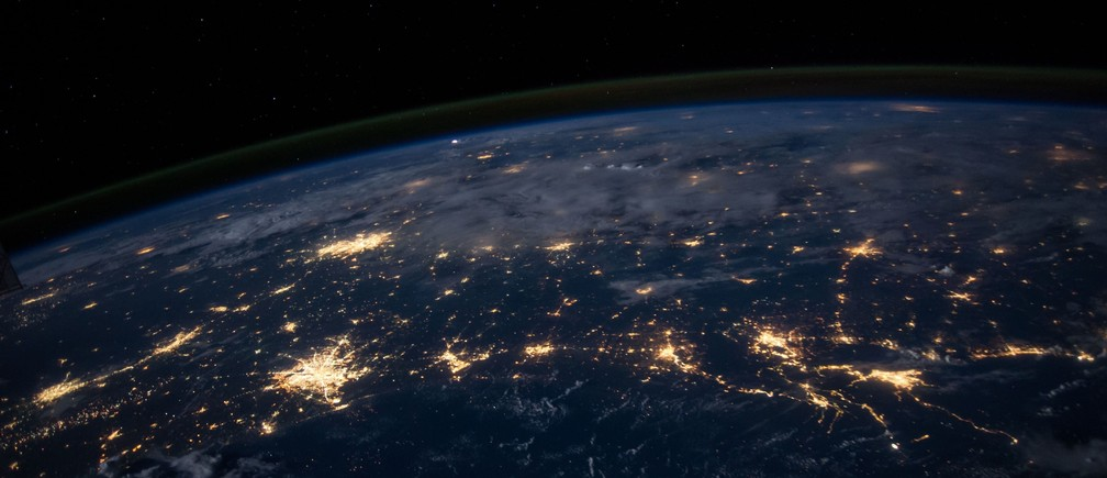 An image of the lights of Mexico, taken from outer space