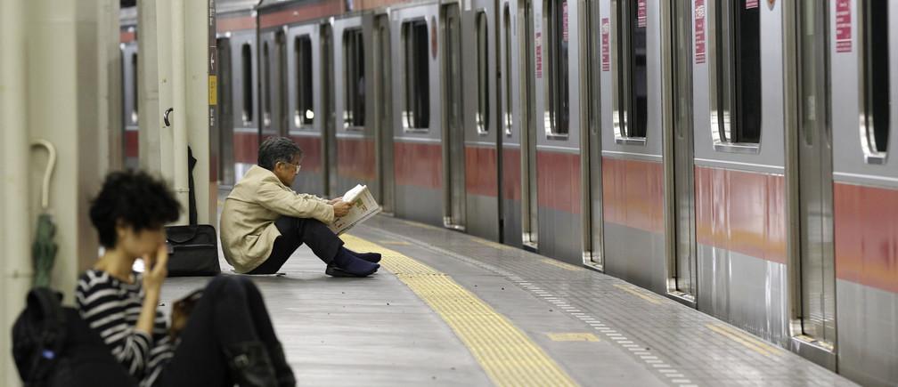 The Tokyo underground system.
