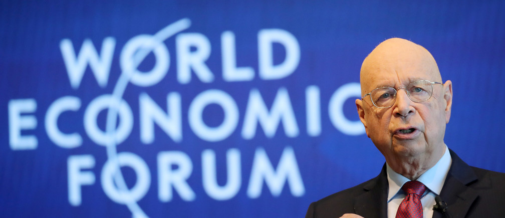 Davos and World Economic Forum Klaus Schwab