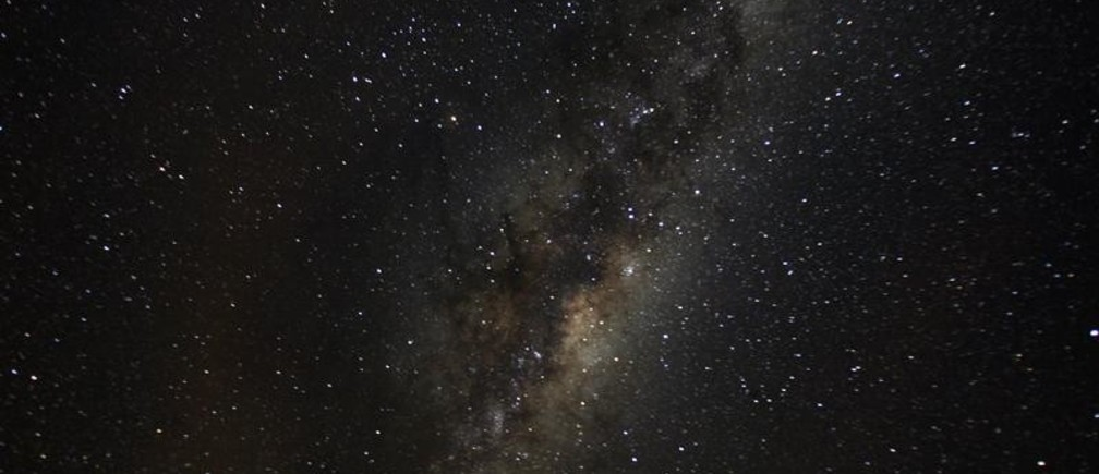 A view of the Milky Way from an area of Puyehue National Park near Osorno City, Chile, May 8, 2008. Picture taken May 8, 2008. REUTERS/Ivan Alvarado - RC1C55A19E80