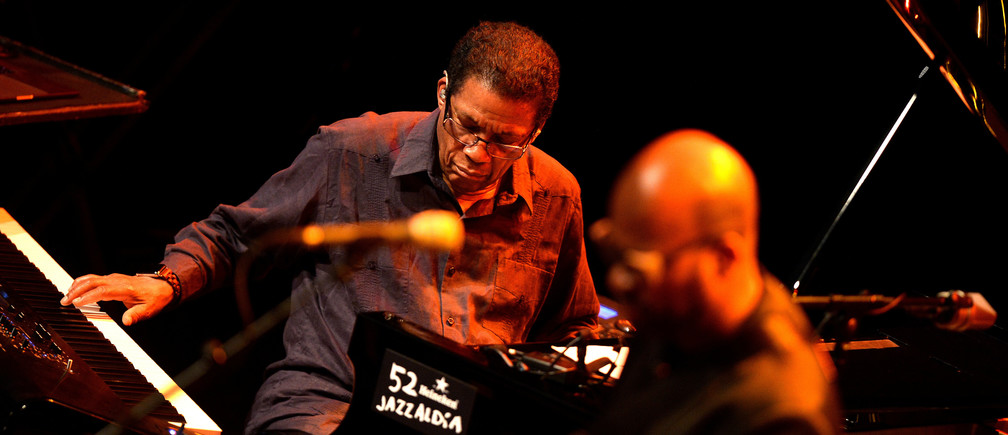 U.S. musician Herbie Hancock performs at the Jazzaldia Festival in San Sebastian, Spain, July 24, 2017. REUTERS/Vincent West - RC19EF2F5710