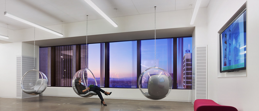 Glumac LA's 17,500-square foot office produces three times more energy than it consumes