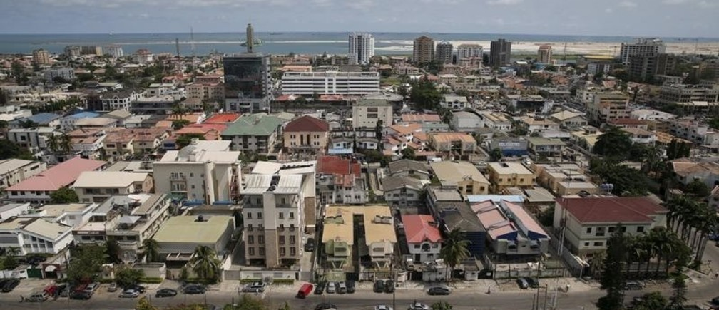 A view of the Victoria Island district in Nigeria's commercial capital Lagos April 19, 2016.  REUTERS/Akintunde Akinleye - GF10000389395