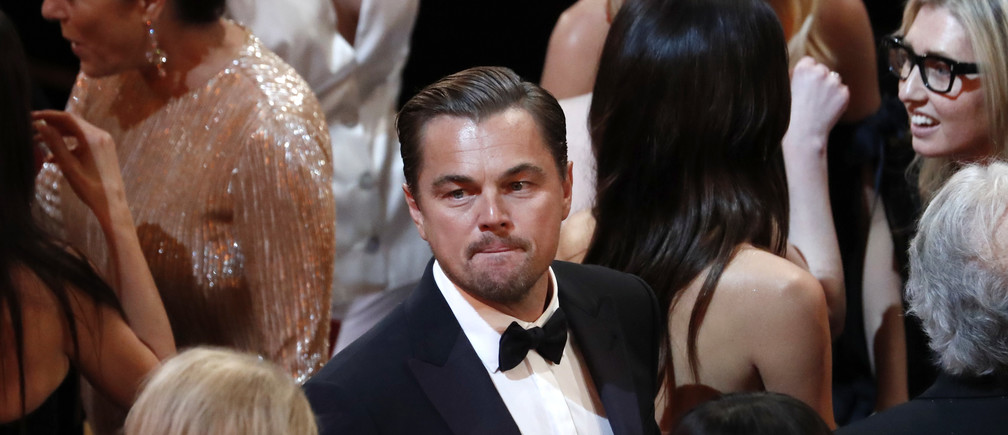 Leonardo DiCaprio attends the 92nd Academy Awards in Hollywood, Los Angeles, California, U.S., February 9, 2020.