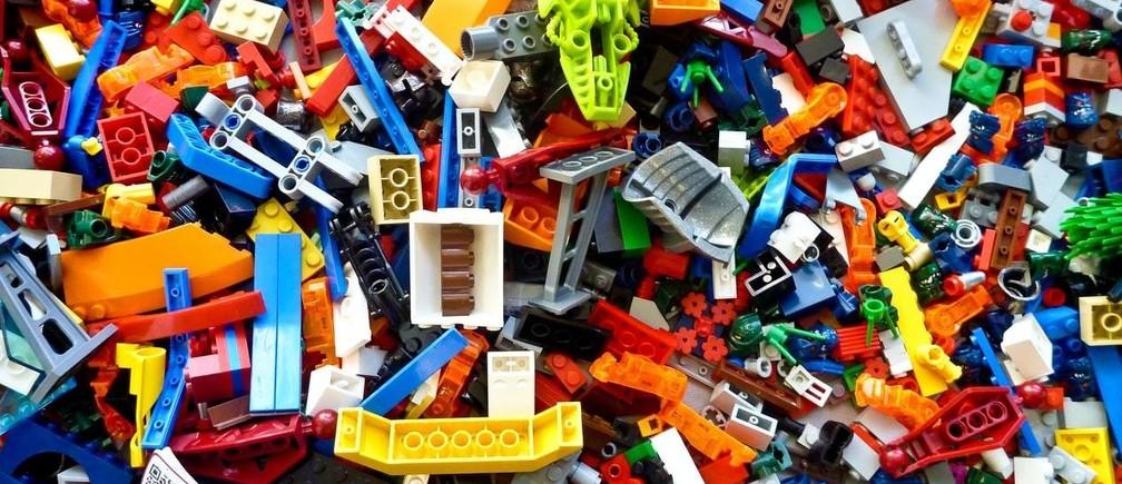 LEGO robot.