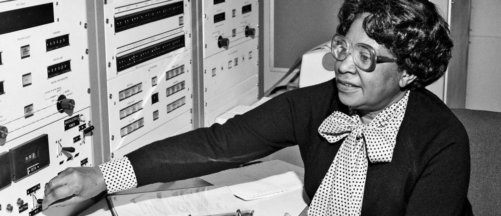 Mary Jackson, the NASA aerospace engineer and mathematician that Janelle Monáe portrays in Hidden Figures.