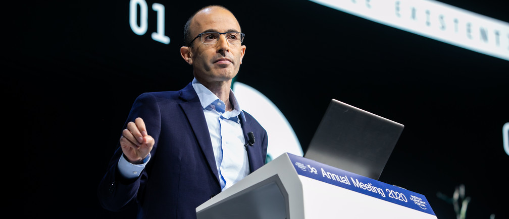 Read Yuval Harari's blistering warning to Davos in full