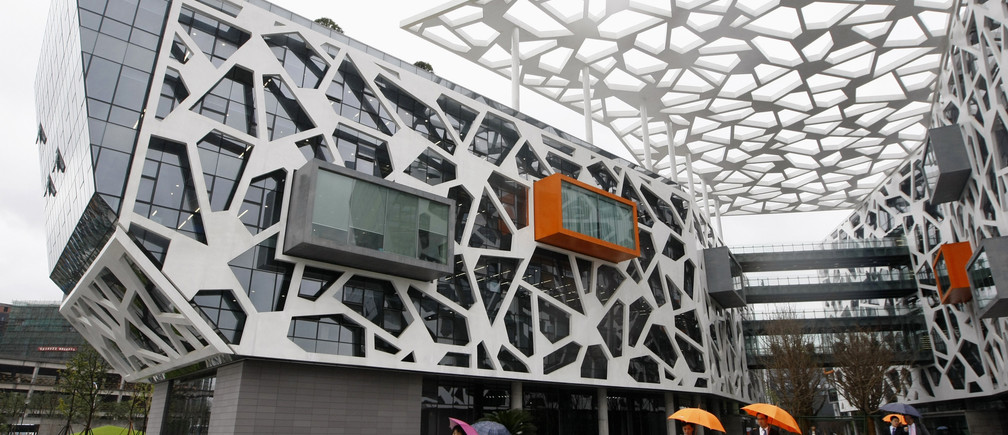 A view of the office building of Alibaba (China) Technology Co. Ltd on the outskirts of Hangzhou, Zhejiang province November 10, 2009.