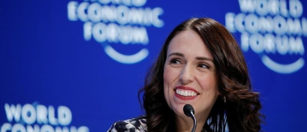 New Zealand's Prime Minister Jacinda Ardern smiles as she attends the World Economic Forum (WEF) annual meeting in Davos, Switzerland, January 22, 2019. REUTERS/Arnd Wiegmann - RC15E5E9F780