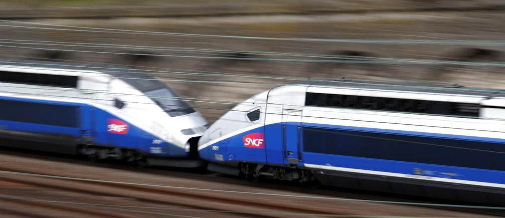 France's TGV high-speed train.