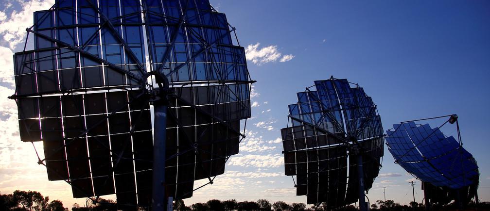 Ergon Energy's Windorah Solar Farm in Queensland, Australia.