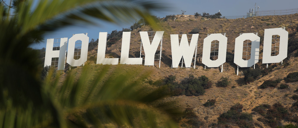 The Hollywood sign is seen in Hollywood, Los Angeles, California, U.S. October 19, 2017. REUTERS/Lucy Nicholson - RC12A7A0EBE0