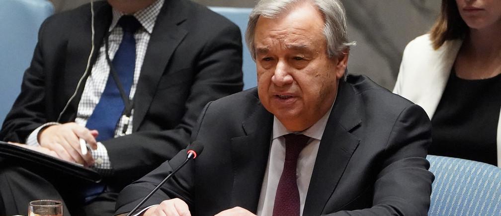 """Instó a los gobiernos a usar sus respuestas económicas a la pandemia de coronavirus para abordar la """"emergencia aún más profunda"""" del cambio climático."""