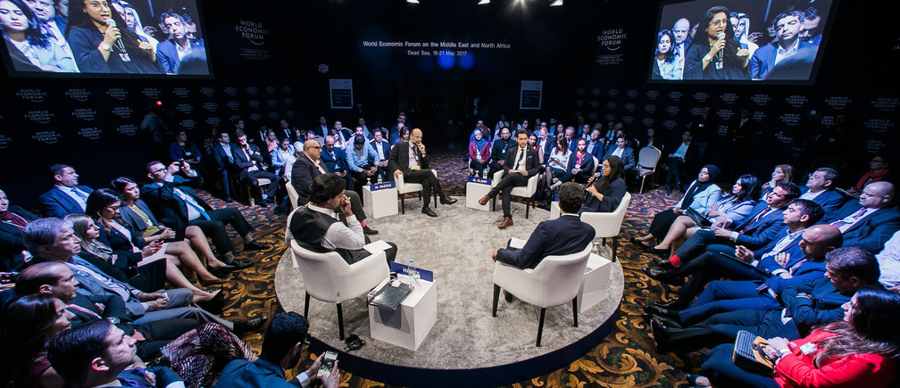 Participants at the World Economic Forum on the Middle East and North Africa 2017. Copyright by World Economic Forum / Benedikt von Loebell