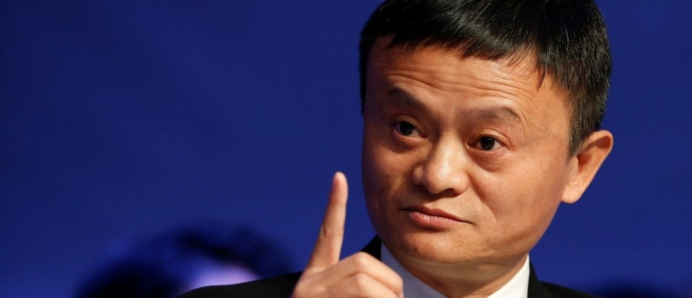 Alibaba executive chairman Jack Ma, attends the annual meeting of the World Economic Forum (WEF) in Davos, Switzerland