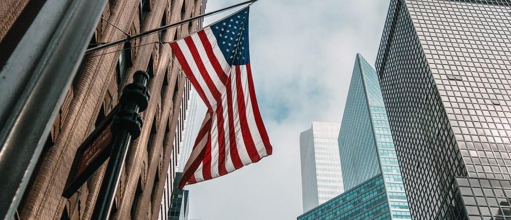 One of warm October days in New York City. new york trade international deals trade economics