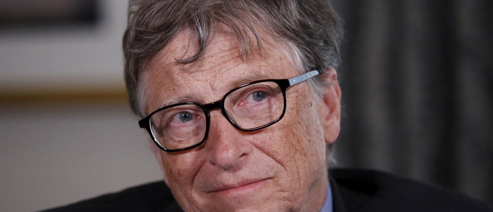 Microsoft co-founder Bill Gates listens to a question during an interview in New York February 22, 2016. The Bill and Melinda Gates Foundation has turned its attention to the Zika virus outbreak, and its founders said the response to the crisis, which may be linked to devastating birth defects in South America, has been better than for the 2014 Ebola outbreak in Africa.REUTERS/Shannon Stapleton - GF10000319262