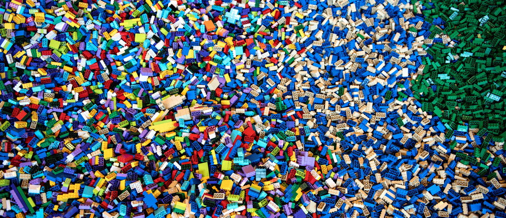 Lego toys are displayed at the Lego World exhibition at Bella Center Copenhagen, Denmark February 15, 2017. Picture taken February 15, 2017.  Scanpix Denmark/Ida Guldbaek Arentsen/via REUTERS  ATTENTION EDITORS - THIS IMAGE WAS PROVIDED BY A THIRD PARTY. DENMARK OUT. NO COMMERCIAL OR EDITORIAL SALES IN DENMARK. - RC14AF24E6B0