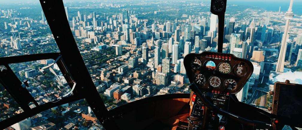 Toronto, Canada pilot plane flight airplane sky fly