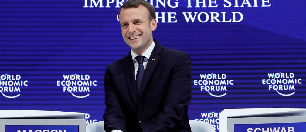 It S Ok To Fail Says French President Emmanuel Macron World Economic Forum