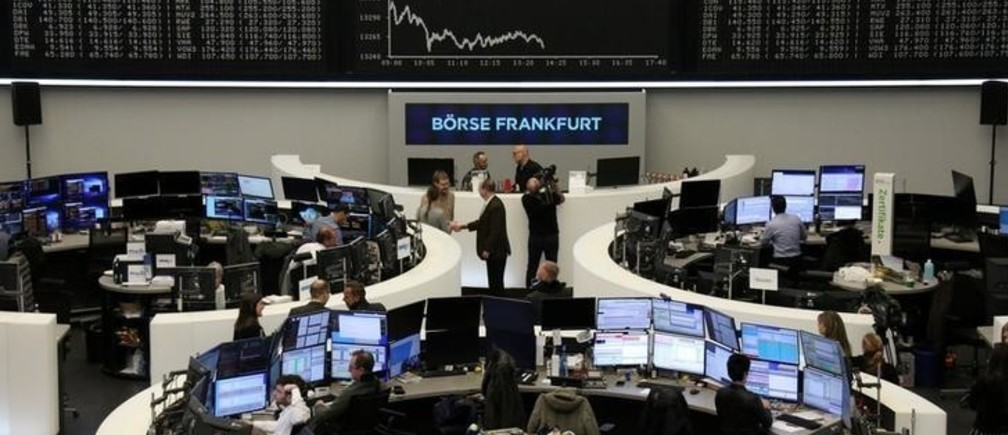 The German share price index DAX graph is pictured at the stock exchange in Frankfurt, Germany, December 30, 2019. REUTERS/Staff