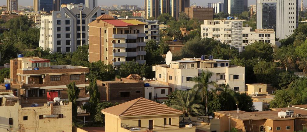 The Khartoum skyline.