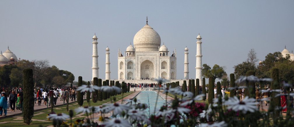 The historic Taj Mahal, pictured here last February, was ordered closed as authorities work to contain the virus. REUTERS/Rupak De Chowdhuri