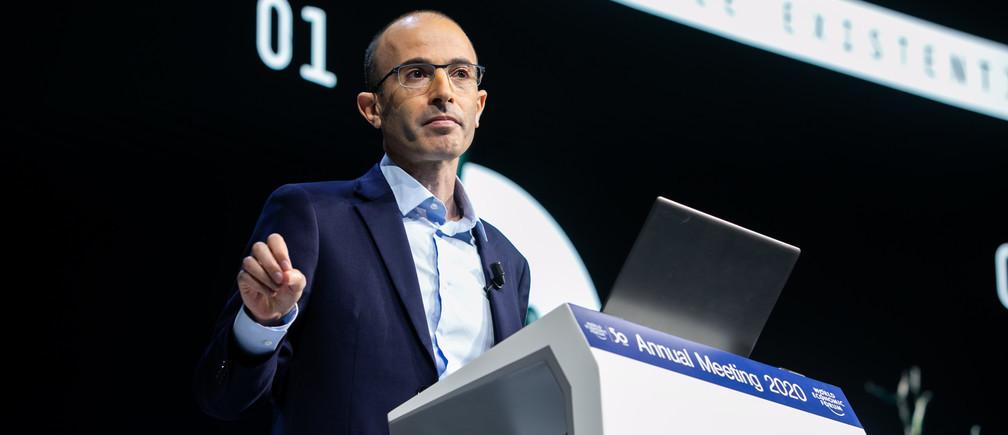 Lisez l'avertissement poignant de Yuval Harari à Davos dans son intégralité