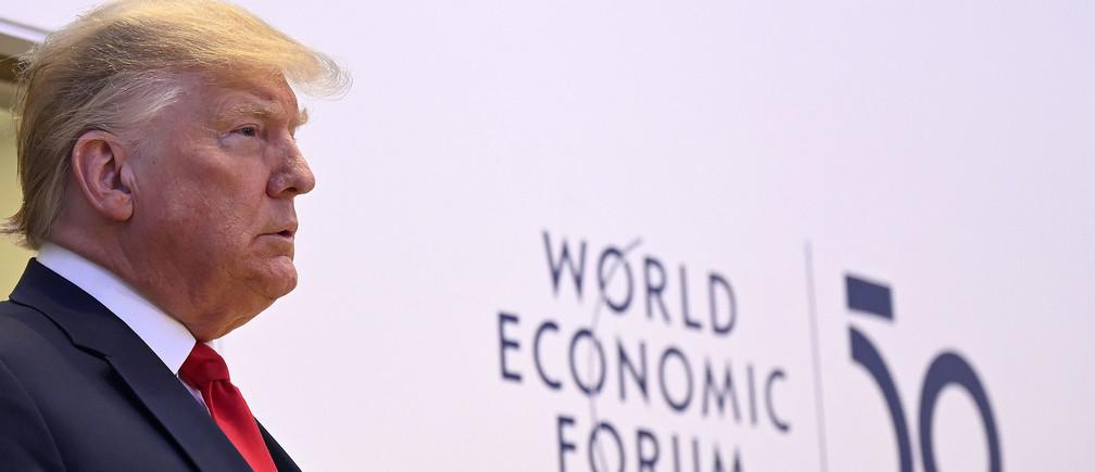President Donald Trump gave an optimistic speech at Davos