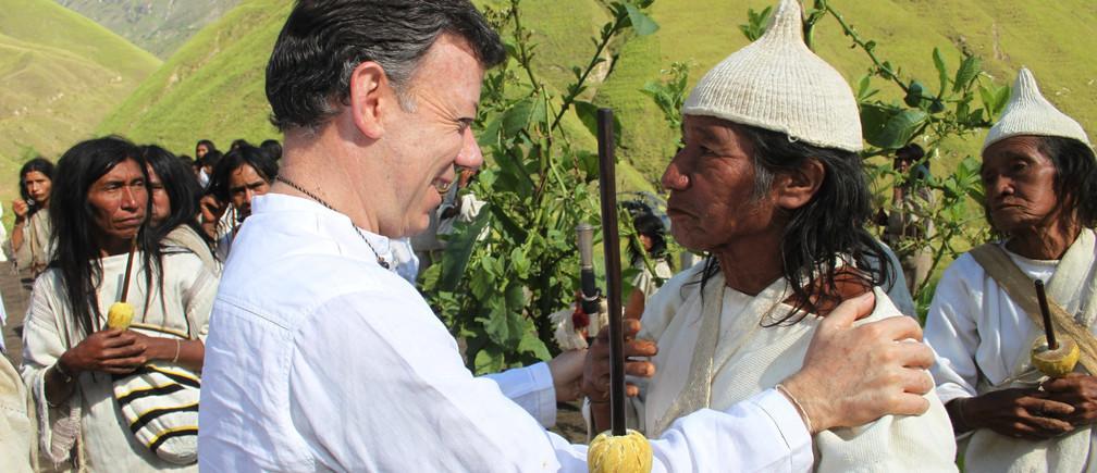El ex presidente de Colombia y ganador del Premio Nobel de la Paz implora a los líderes mundiales que escuchen a los pueblos indígenas.