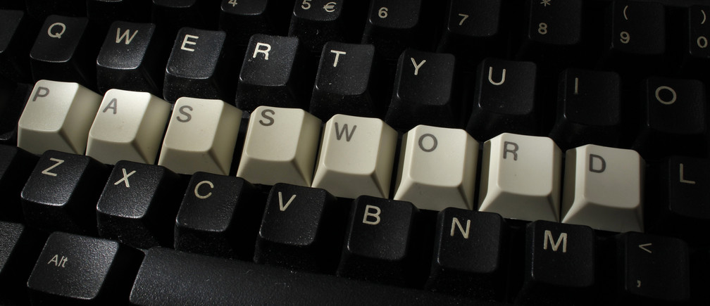 A computer keyboard with letters stacked forming the word 'password'  is seen in this illustration picture taken in Warsaw, December 12, 2013.  REUTERS/Kacper Pempel (POLAND - Tags: SCIENCE TECHNOLOGY) - BM2E9CI0WUS01