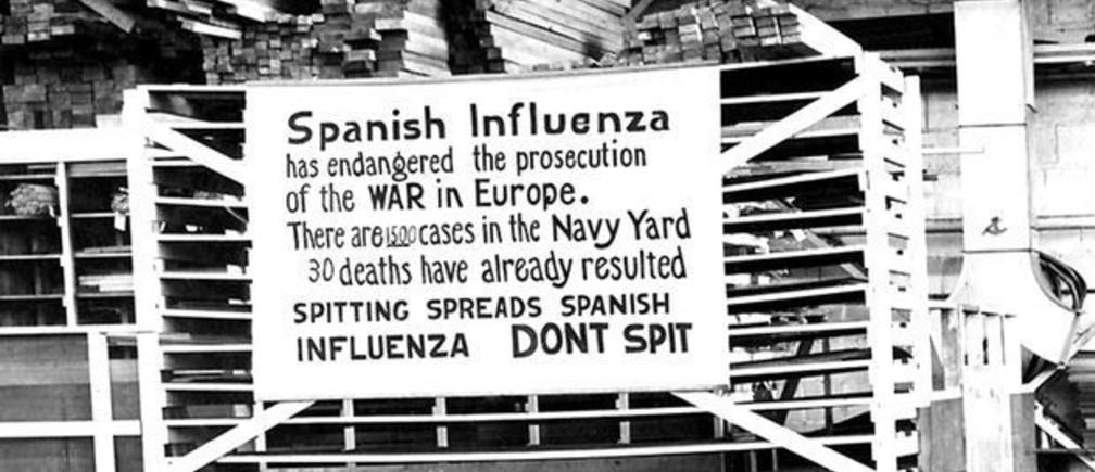 Spanish Flu 1918 Covid-19 coronavirus Laura Spinney
