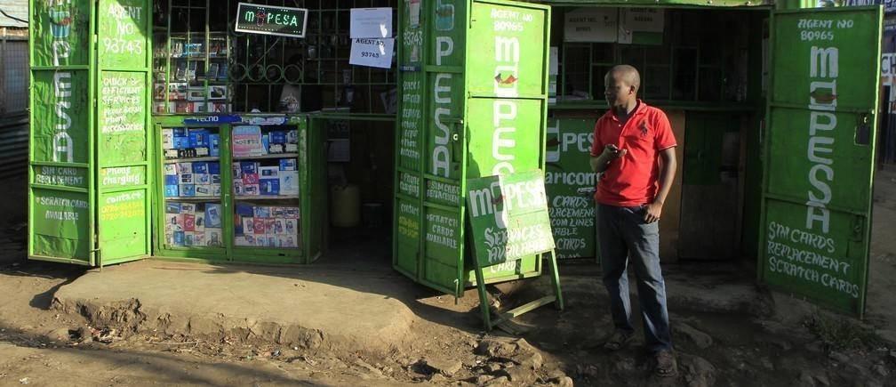 肯尼亚的移动支付产品M-Pesa就是金融科技创新的一个例子。