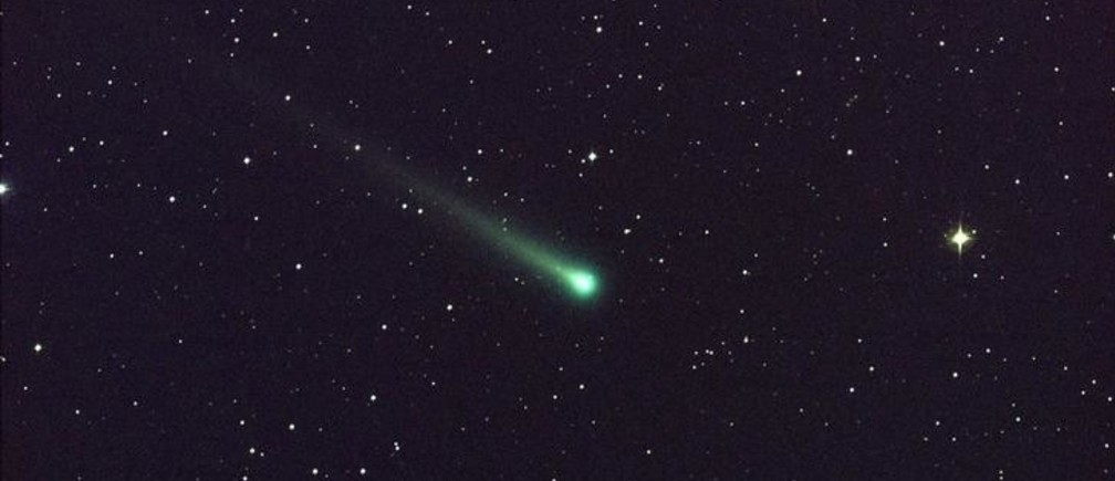 "Comet ISON is seen in this five-minute exposure taken at NASA's Marshall Space Flight Center (MSFC) on November 8 at 5:40 a.m. EST (1040 GMT), courtesy of NASA. The image has a field of view of roughly 1.5 degrees by 1 degree and was captured using a colour charge-coupled device (CCD) camera attached to a 14"" (36 cm) telescope located at Marshall. At the time of this picture, Comet ISON was 97 million miles (156 million km) from Earth, heading toward a close encounter with the sun on November 28. Located in the constellation of Virgo, it is now visible in a good pair of binoculars. REUTERS/Aaron Kingery/NASA/MSFC/Handout via REUTERS  (OUTER SPACE - Tags: SCIENCE TECHNOLOGY) ATTENTION EDITORS – THIS IMAGE WAS PROVIDED BY A THIRD PARTY. FOR EDITORIAL USE ONLY. NOT FOR SALE FOR MARKETING OR ADVERTISING CAMPAIGNS. THIS PICTURE IS DISTRIBUTED EXACTLY AS RECEIVED BY REUTERS, AS A SERVICE TO CLIENTS"