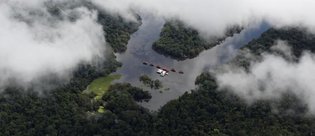 Mamiraua Sustainable Development Reserve in Uarini, Amazonas state, Brazil, May 16, 2016.