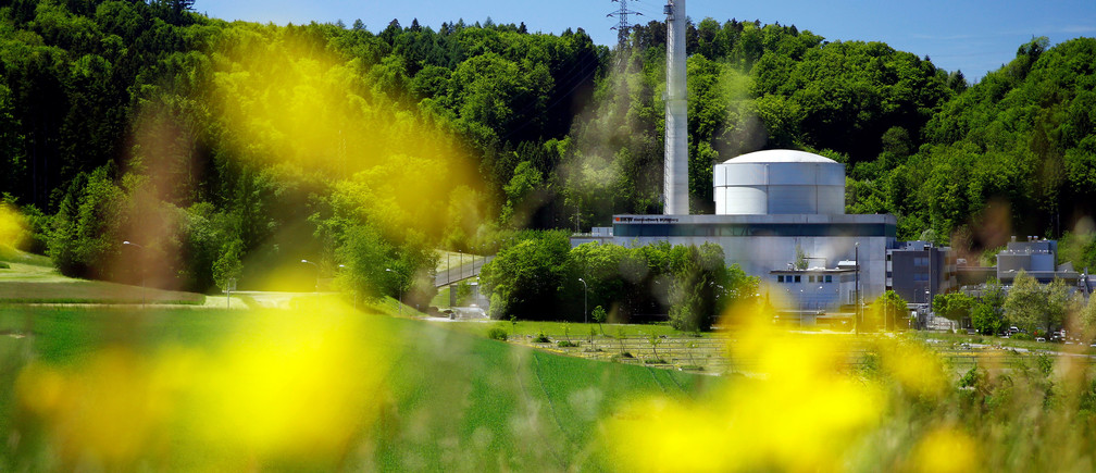 Swiss energy company BKW's Muehleberg nuclear power plant is pictured in Muehleberg near Bern, Switzerland, May 17, 2017. REUTERS/Denis Balibouse - RTX367FY