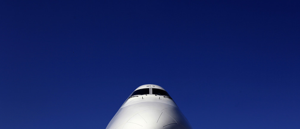 A British Airways Boeing 747 passenger aircraft is parked at Heathrow Airport in west London April 7, 2011.
